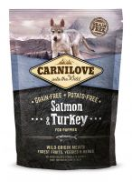 Carnilove Salmon & Turkey for Puppy 1,5kg - losos a krocan