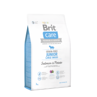 Brit Care Grain Free Junior LB Salmon & Potato 3kg