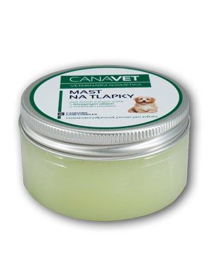 CANAVET mast na tlapky s přísadou Canabis Care Complex 100ml HERBAVERA