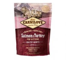 Carnilove Cat Grain Free Salmon&Turkey Kittens Healthy Growth 400g