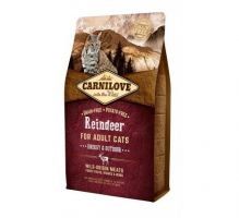 Carnilove Cat Grain Free Reindeer Adult Energy&Outdoor 2kg