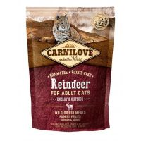 Carnilove Cat Grain Free Reindeer Adult Energy&Outdoor 400g