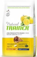 TRAINER Natural Small&Toy Adult Prosciutto a rýže 2kg