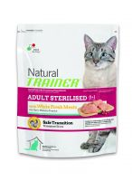 TRAINER Natural Cat Adult Sterilised s bil.masem 3kg