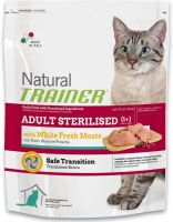TRAINER Natural Cat Adult Sterilised s bil.masem 1,5kg