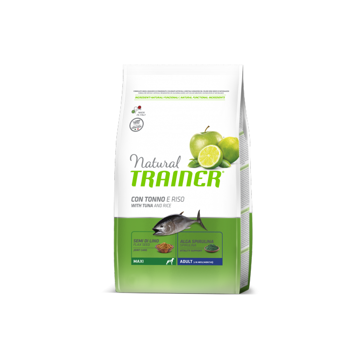 TRAINER Natural Maxi Adult Tuňák a rýže 3kg