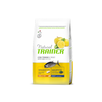 TRAINER Natural Small&Toy Adult Tuňák a rýže 2kg