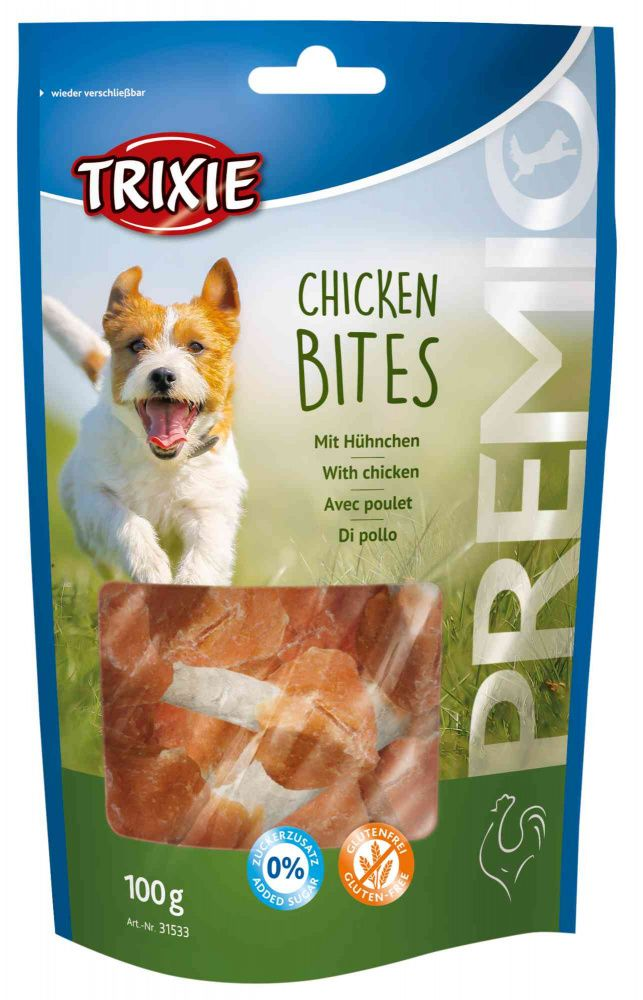Premio CHICKEN BITS light - kuřecí špalík 100g Trixie