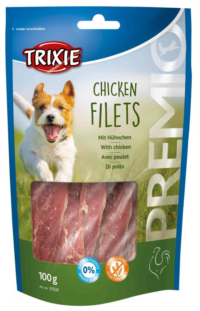 Premio CHICKEN FILETS light - kuřecí filet 100g Trixie