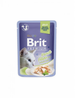 Brit Premium Cat Fillets in Jelly with Trout 85g